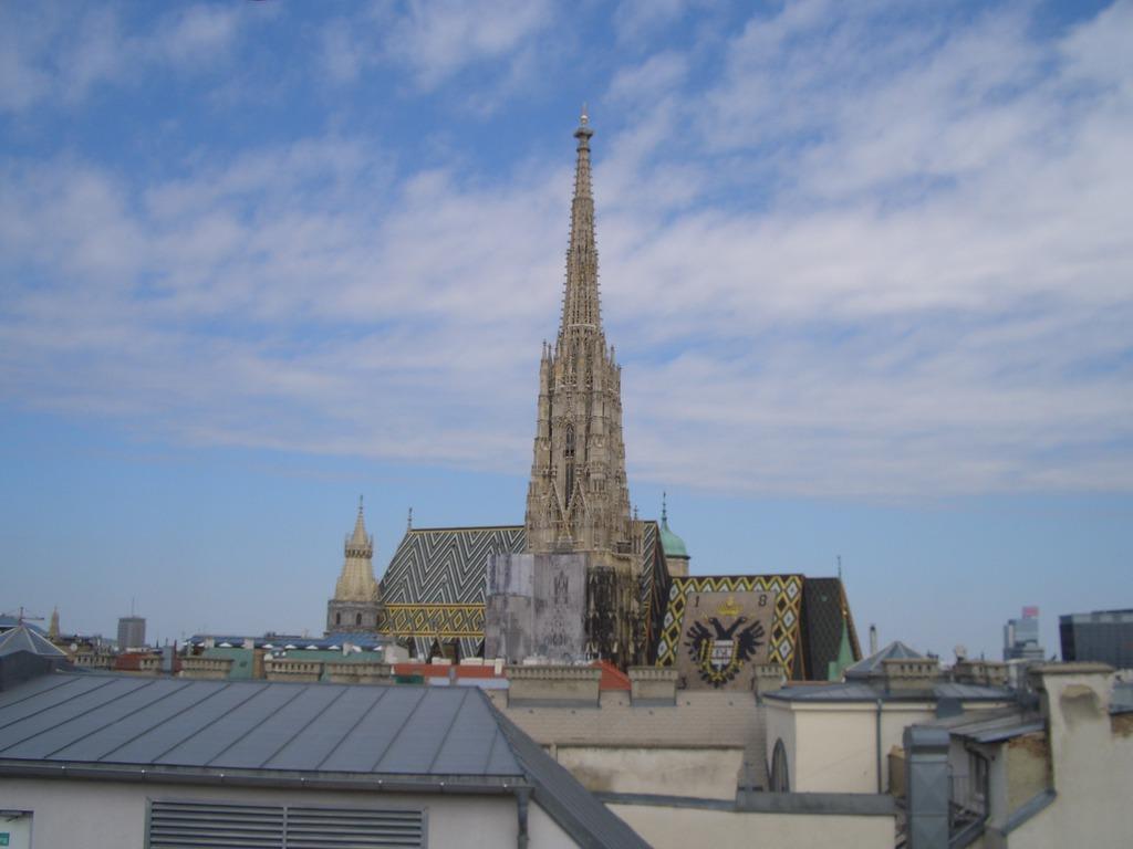 3cf6160d3e151c Blick auf den Stephansdom Bilder Tempel Kirche Grabmal Sky Café