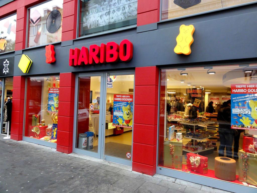 Bild Au Enansicht Des Stores Zu Haribo Store Bonn In Bonn