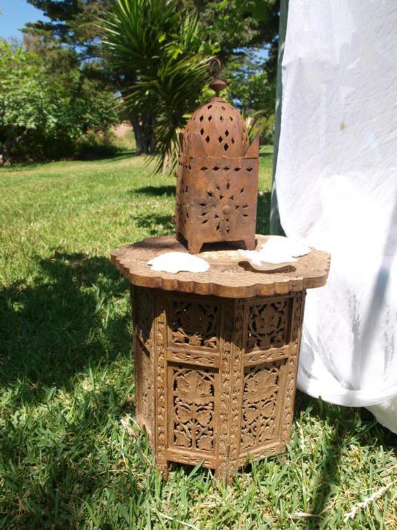 bild deko am outdoor himmelbett zu finca la concha in. Black Bedroom Furniture Sets. Home Design Ideas