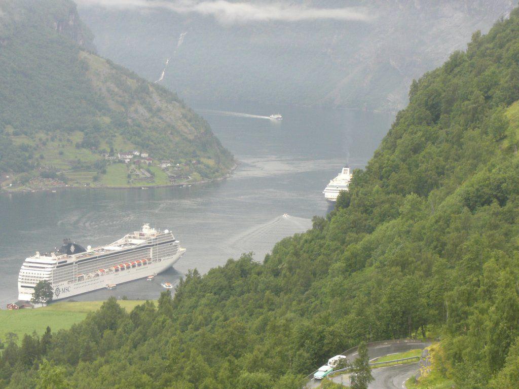Wandern  Bilder Fluss/See/Wasserfall Geirangerfjord