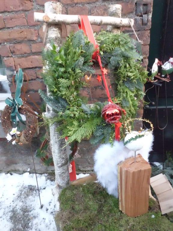 Weihnachtsdeko Verkaufen.Bild Weihnachtsdeko Zum Verkauf Zu Weihnachtsmarkt Schloss