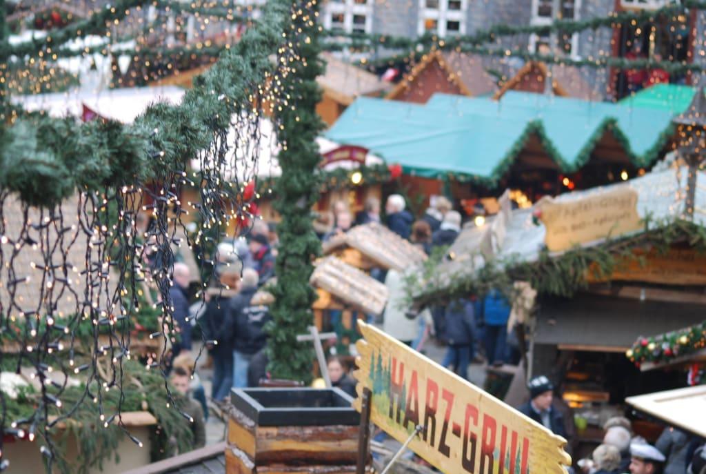 Goslar Weihnachtsmarkt.Bild Weihnachtsmarkt Zu Weihnachtsmarkt Weihnachtswald