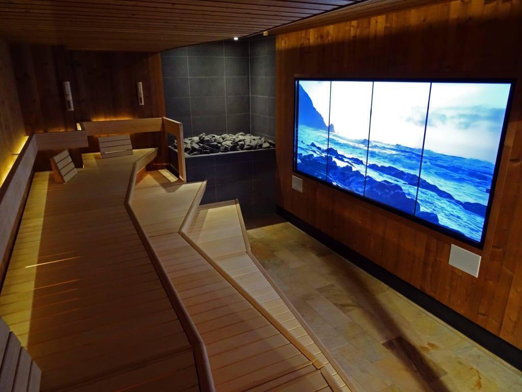 bild erlebnis sauna in der saunawelt nacktbereich zu erlebnisbad aquamagis plettenberg in. Black Bedroom Furniture Sets. Home Design Ideas