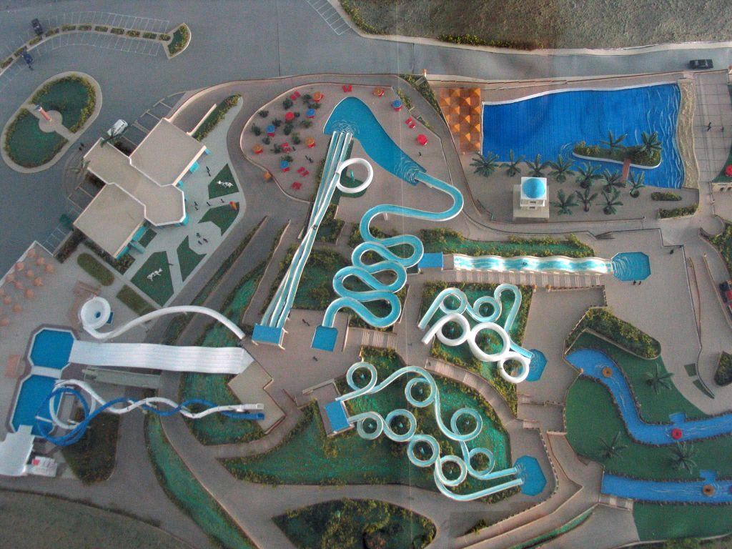 Model Water Park Modell Des Water Parks