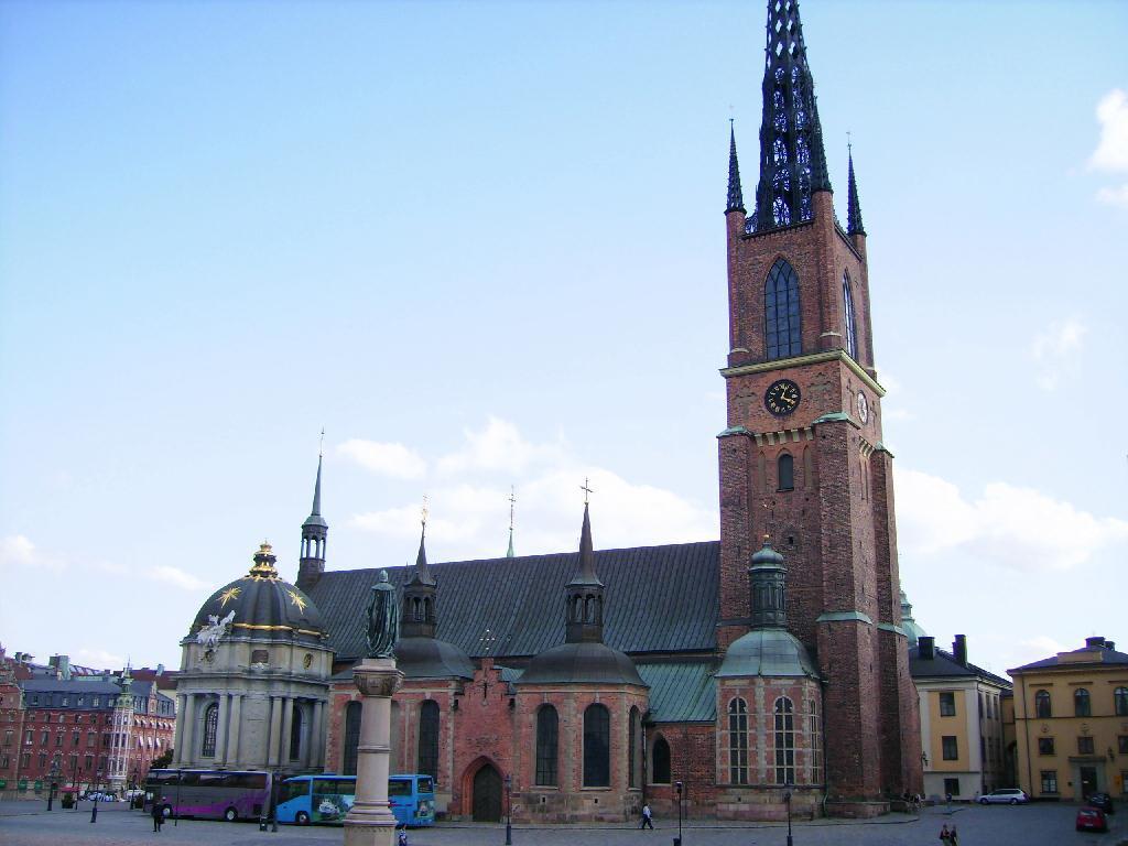 bild begr bniskirche der schwedischen k nige zu riddarholmskirche in stockholm. Black Bedroom Furniture Sets. Home Design Ideas