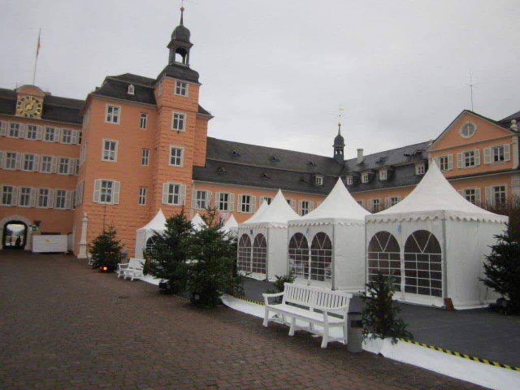 Weihnachtsmarkt Schwetzingen.Bild Weihnachtsmarkt Am Schloss Schwetzingen Zu Schloss