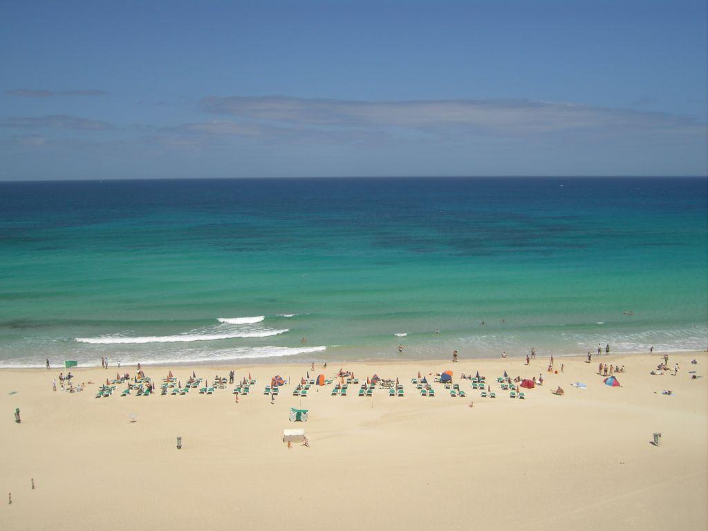 Bild ausssicht zu hotel riu oliva beach village resort for Riu oliva beach village