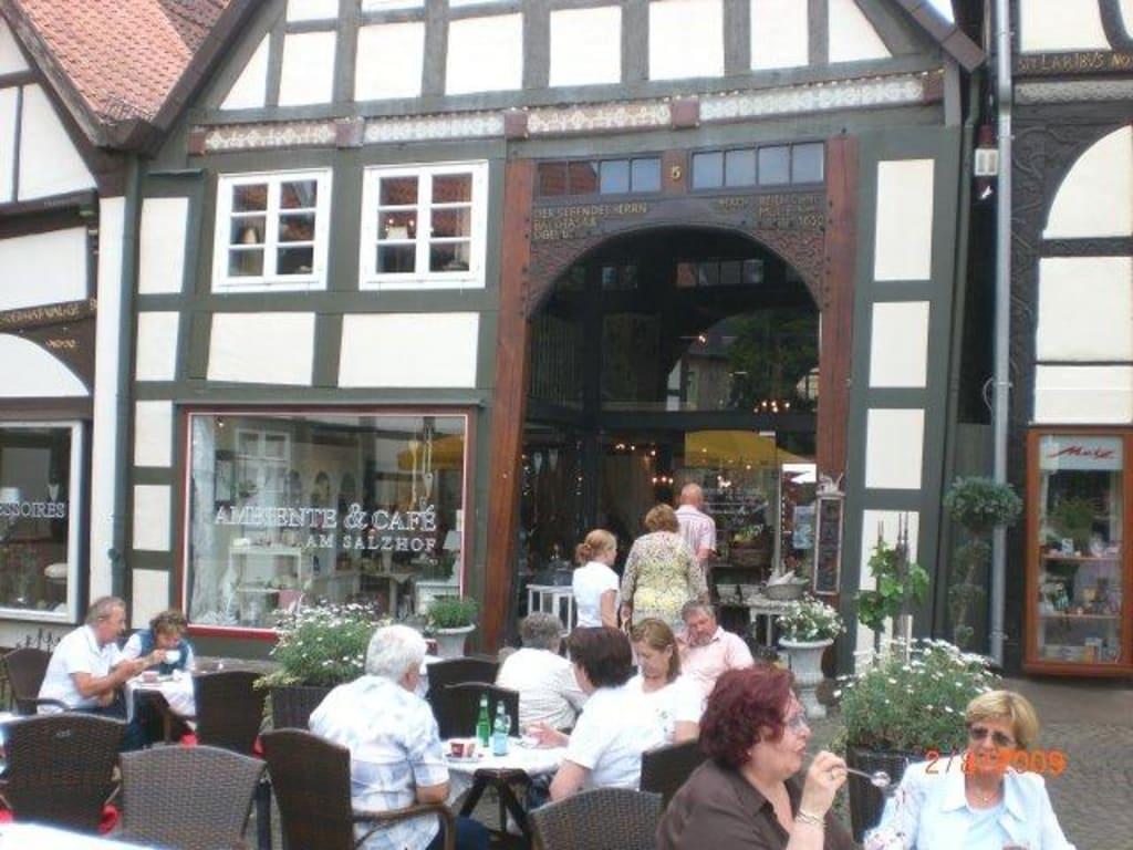 Ambiente Und Cafe Am Salzhof Bad Salzuflen