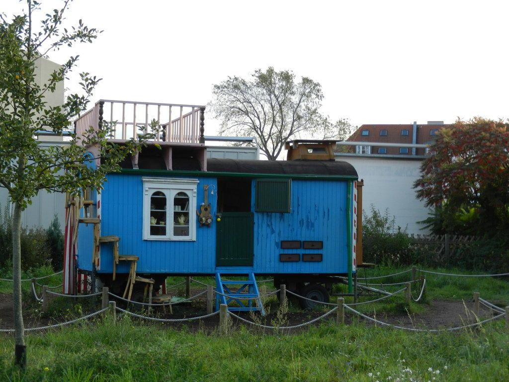 bild bauwagen von l wenzahn zu filmpark babelsberg in. Black Bedroom Furniture Sets. Home Design Ideas