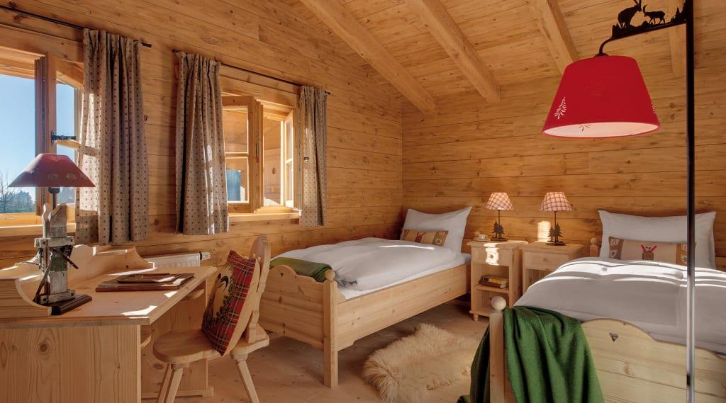 Bild  Inns Holz Chalet  2 Schlafzimmer Kinderzimmer  zu INNs HOL