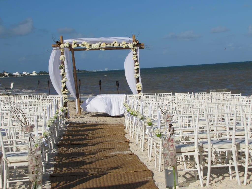 Bild Hochzeit Am Strand Zu Strand Puerto Morelos In Puerto Morelos