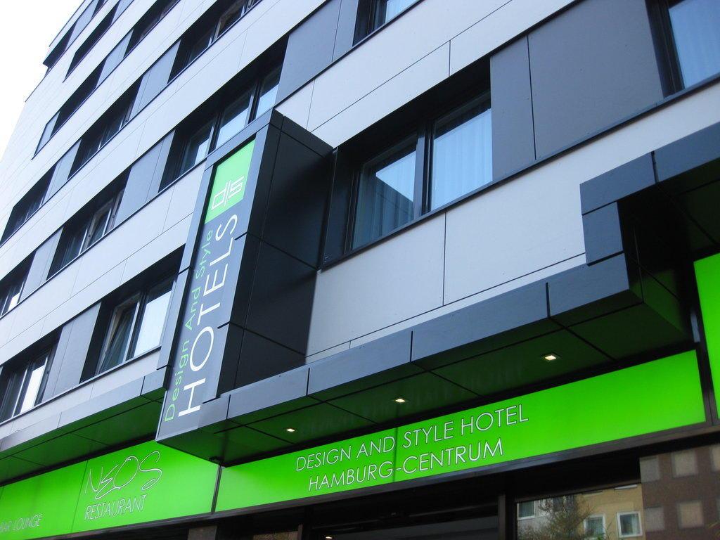 Bild blick vom steindamm zu novum style hotel hamburg for Hotel hamburg stylisch