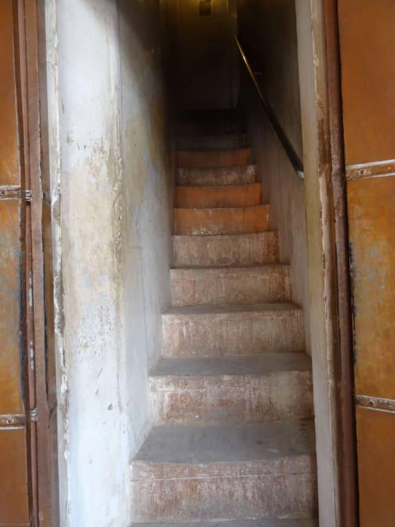 Bild Sehr Enge Treppe Nach Oben Zu Junagarh Fort In Bikaner