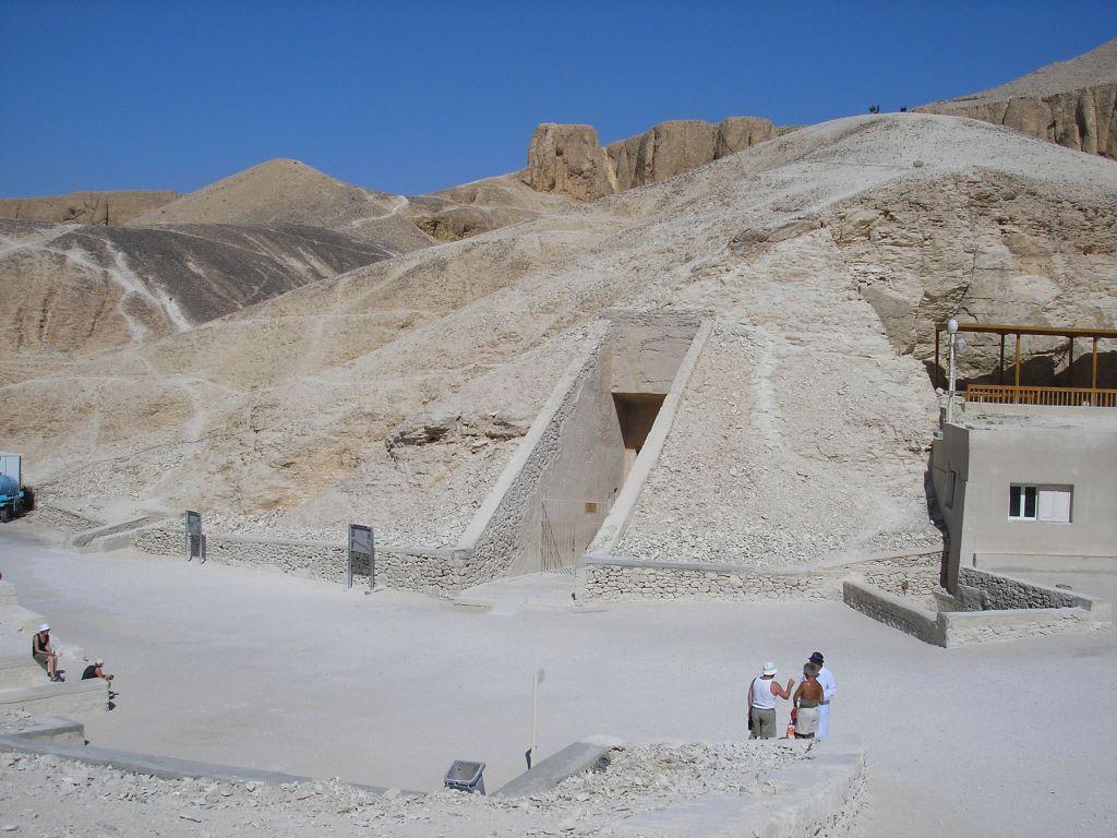 Eingang zur Grabkammer Ramses IV Bilder  Tal der Könige