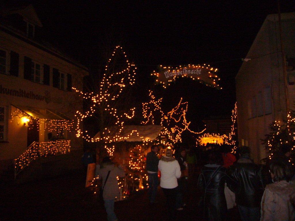 Bad Hindelang Weihnachtsmarkt.Bild Waldweihnacht Zu Weihnachtsmarkt Bad Hindelang In Bad