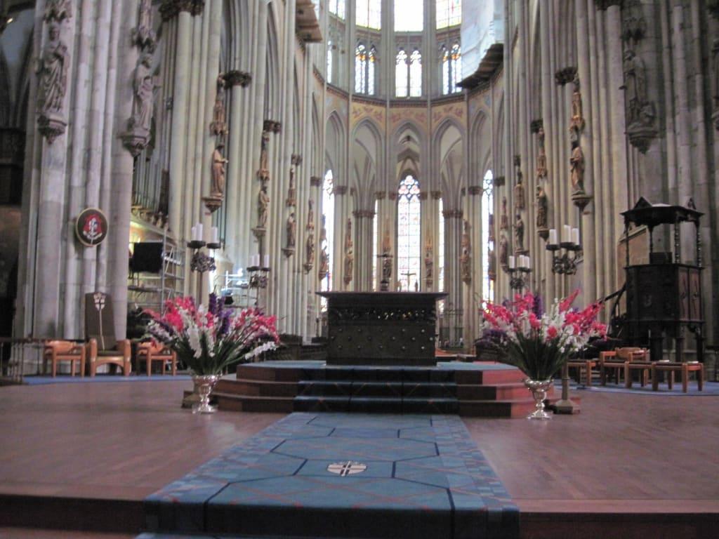 Bild Altar Zu Kolner Dom In Koln