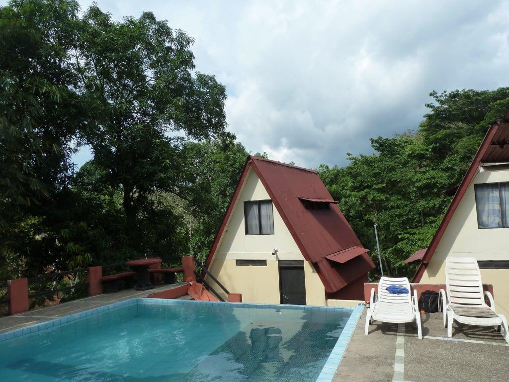 bild bebachtung von v geln vom pool aus mit fernglas zu cabinas paradise in t rcoles. Black Bedroom Furniture Sets. Home Design Ideas