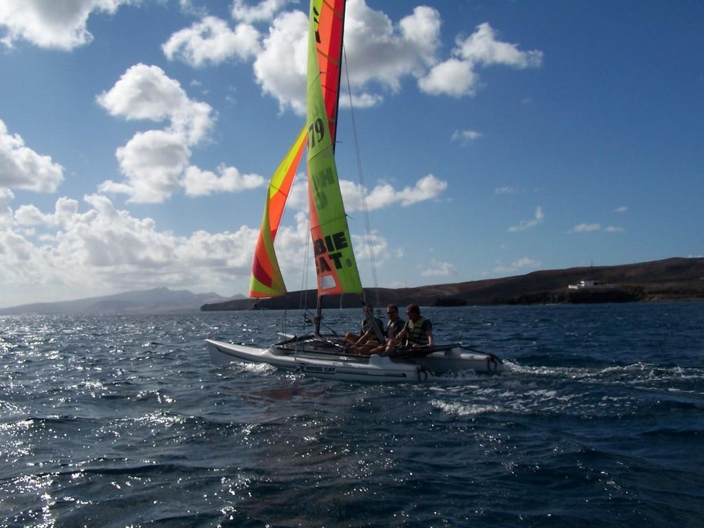 Katamaran segeln sport  Bild