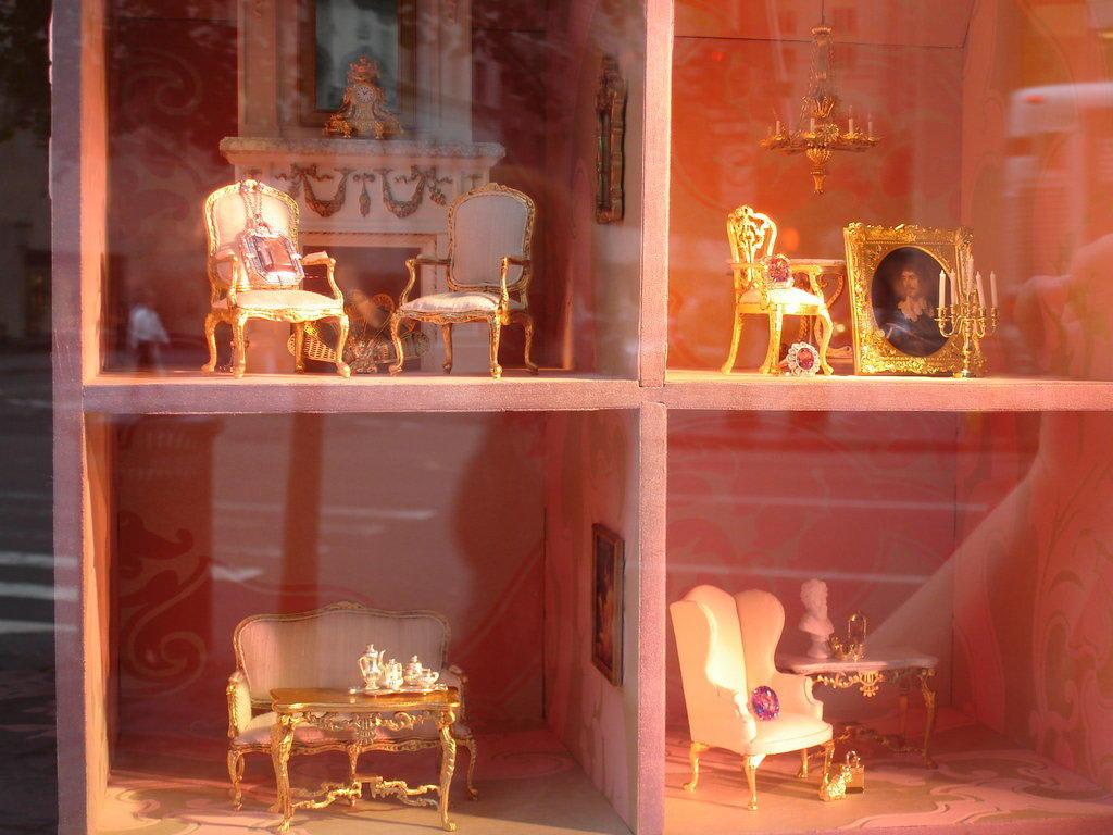 Bild schaufensterdekoration zu tiffanys in new york for Schaufensterdekoration schmuck