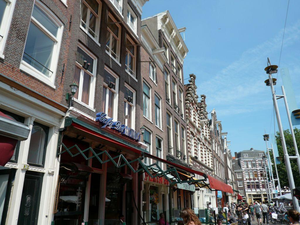 Bild Typische Stra E In Amsterdam Zu Zentrum Amsterdam