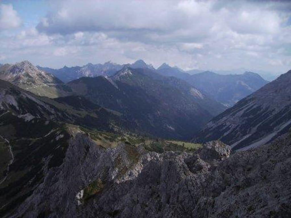 Klettersteig Lachenspitze Bilder : Klettersteig lachenspitze