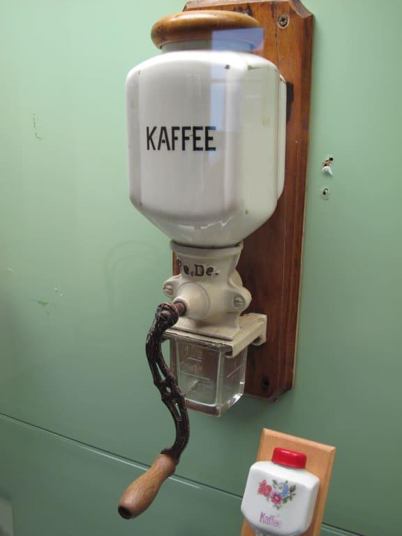 Wand kaffeemühle