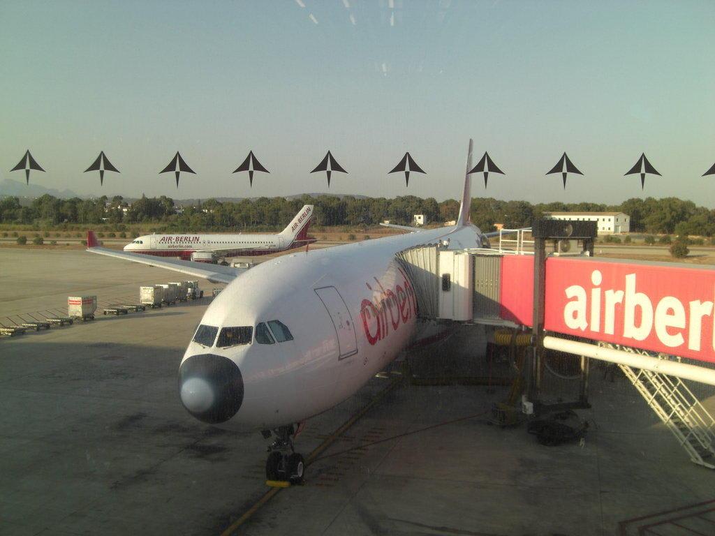 Flughafen Malaga Abflug Air Berlin