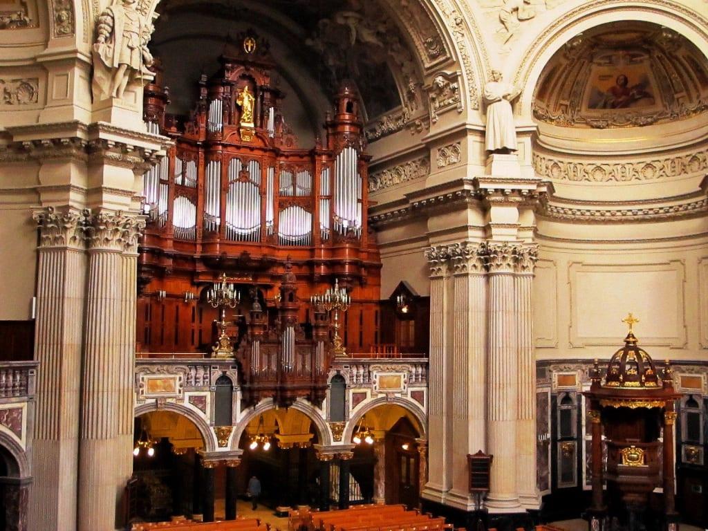 Bild Berliner Dom Sauer Orgel Zu Berliner Dom In Berlin Mitte