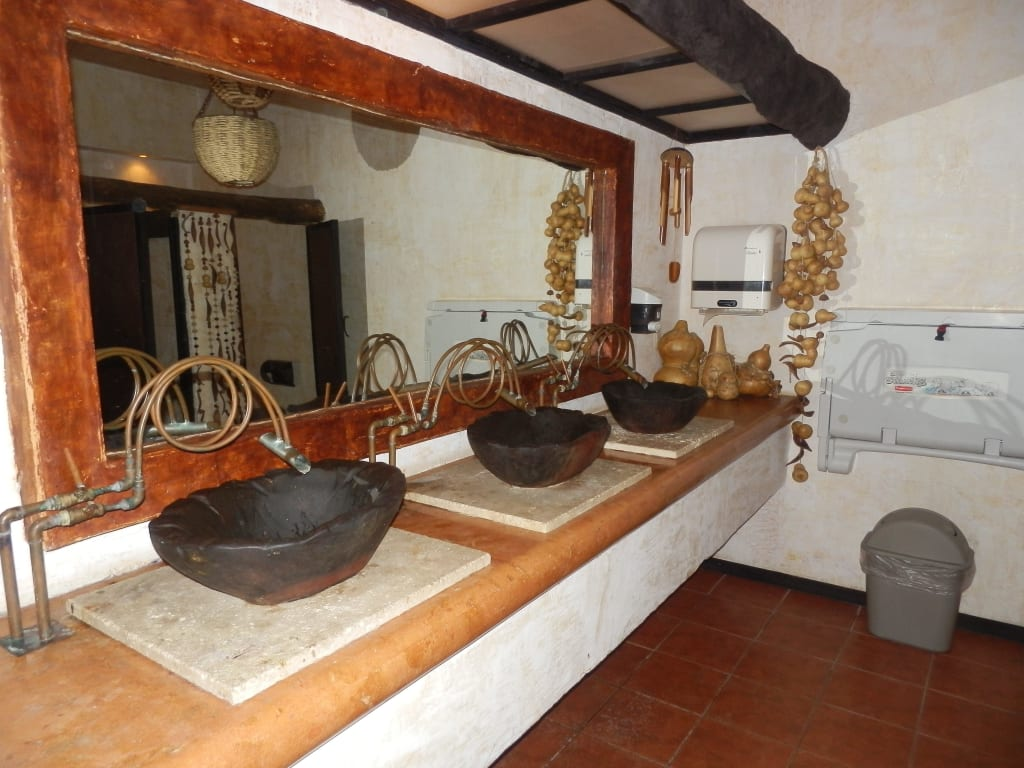 Bild Wasserhahn Mal Anders Zu Restaurant Xulam In Playa Del Carmen Playacar