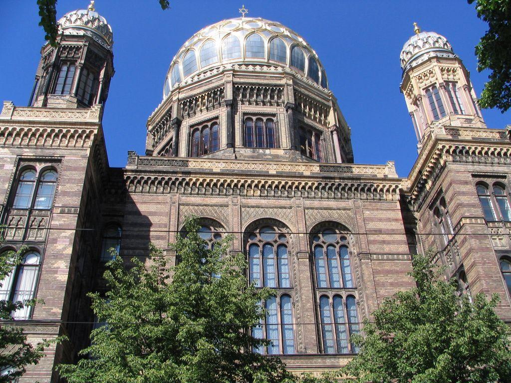 bild neue synagoge berlin zu neue synagoge in berlin mitte. Black Bedroom Furniture Sets. Home Design Ideas