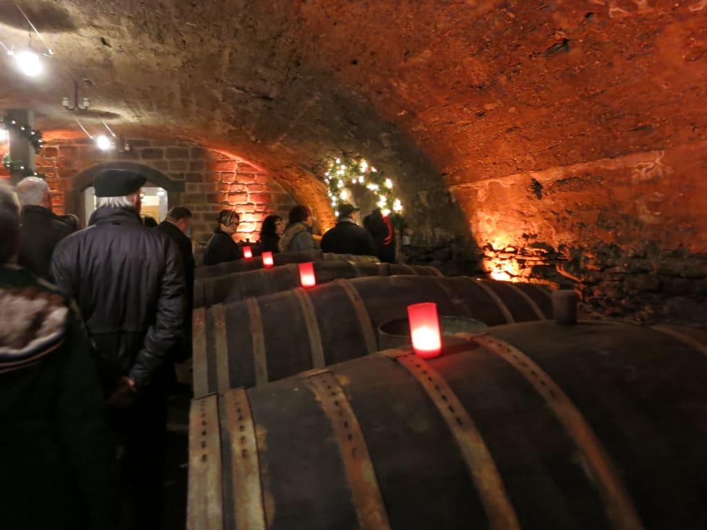 Weihnachtsmarkt Traben Trarbach.Bild Weihnachtsmarkt Wein Nachts Markt Zu Mosel Wein Nachts