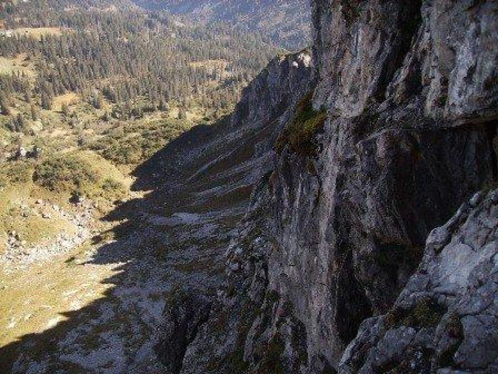 Klettersteig Kanzelwand : Fröhliche kurzweil auf dem klettersteig walsersteig outdoormädchen