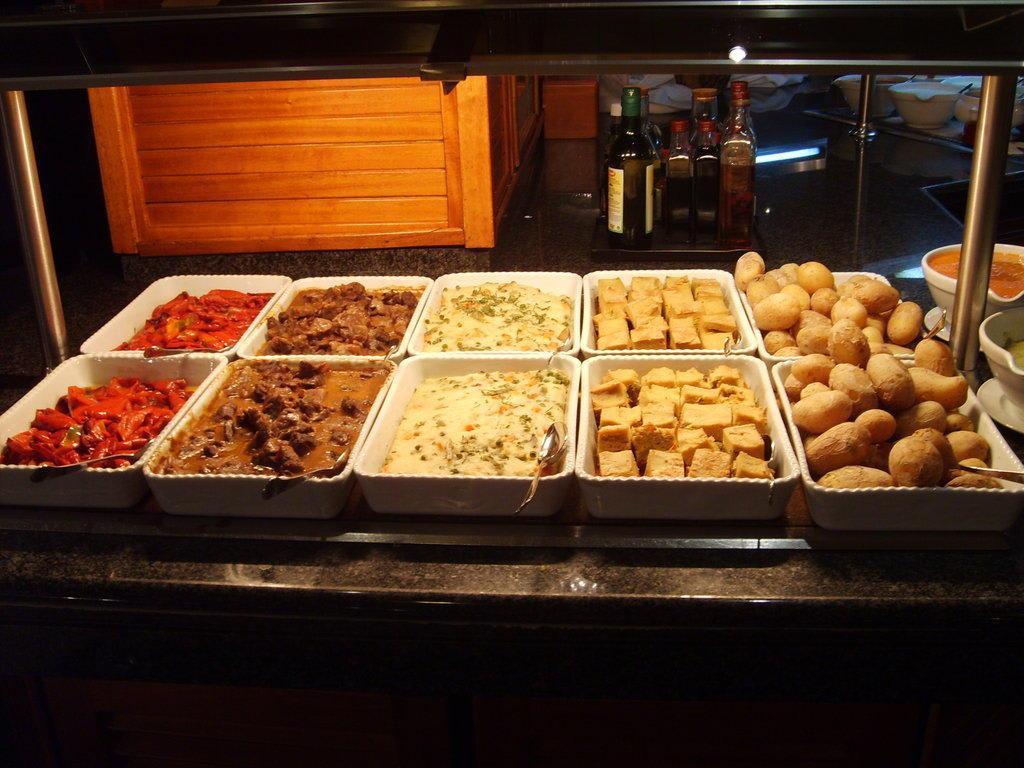 Veganes Essen Bilder Restaurant & Büffet Aparthotel Riu Flamingo (Vorgänger-Hotel – existiert nicht mehr)