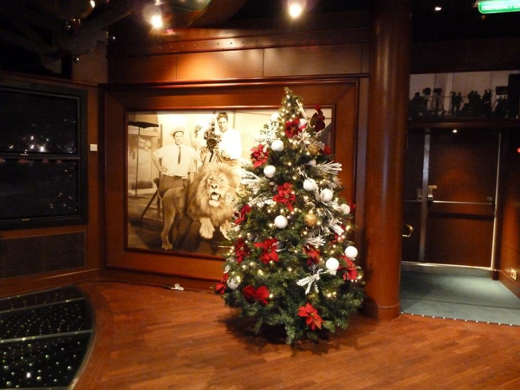 Bild Lounge Weihnachtliche Dekoration Zu Ruby Princess In
