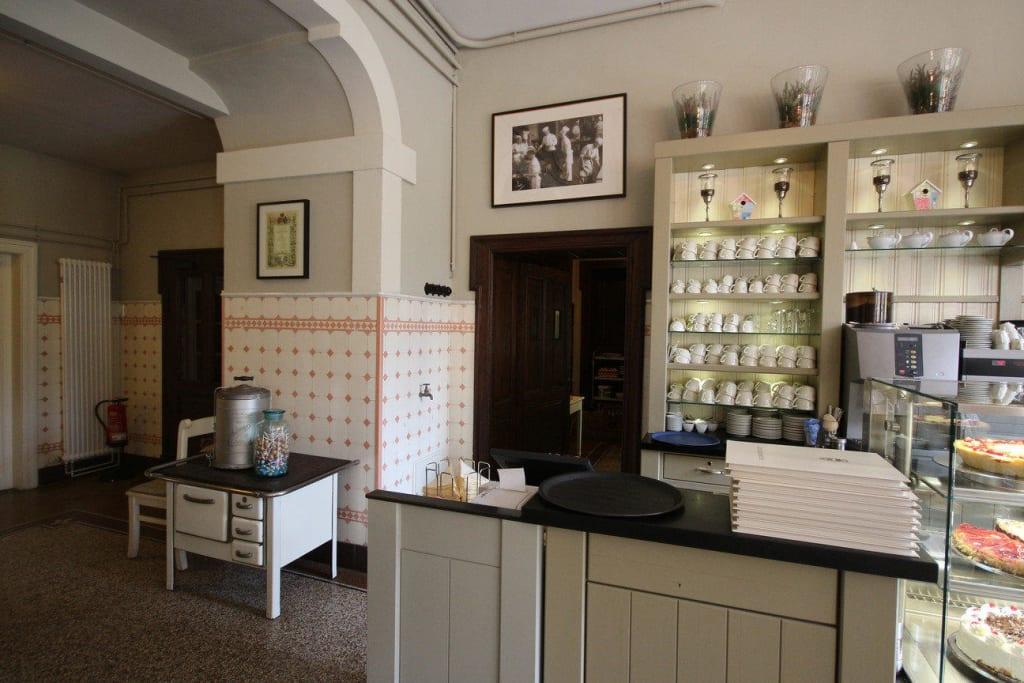 bild schlossk che zu restaurant alte schlossk che in b ckeburg. Black Bedroom Furniture Sets. Home Design Ideas