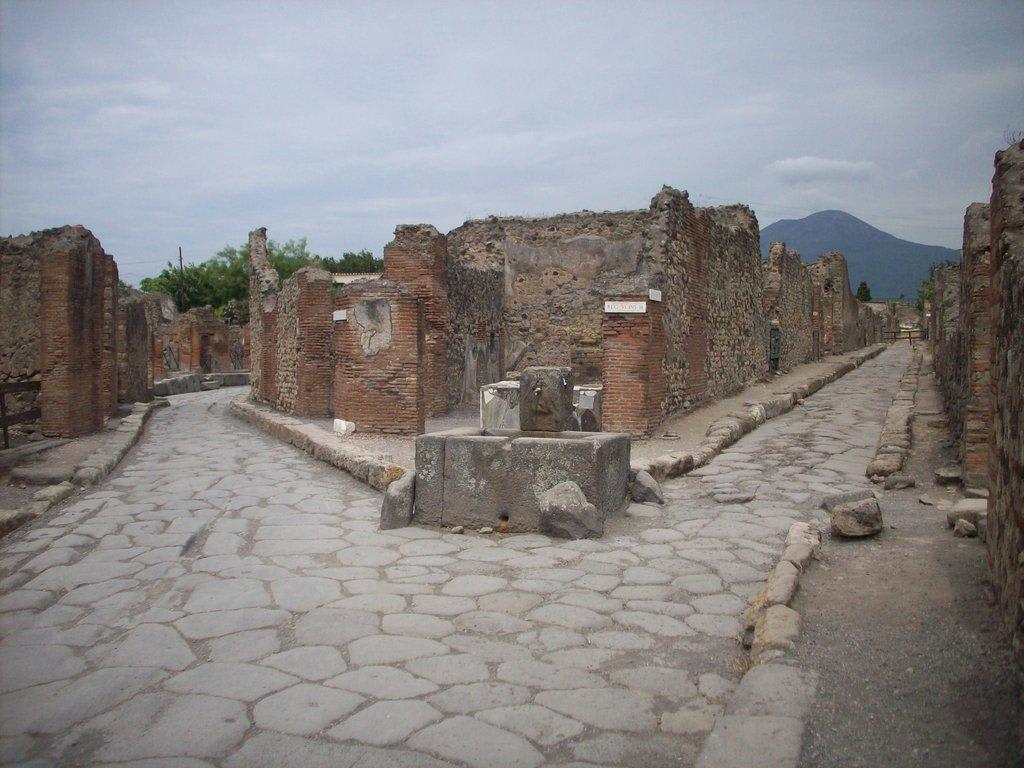 Bild Quot Strasse In Pompeji Quot Zu Das Antike Pompeji In Pompei