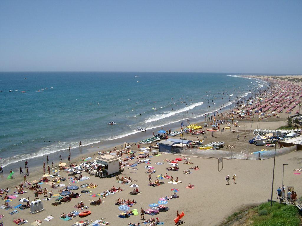 strand playa del ingles