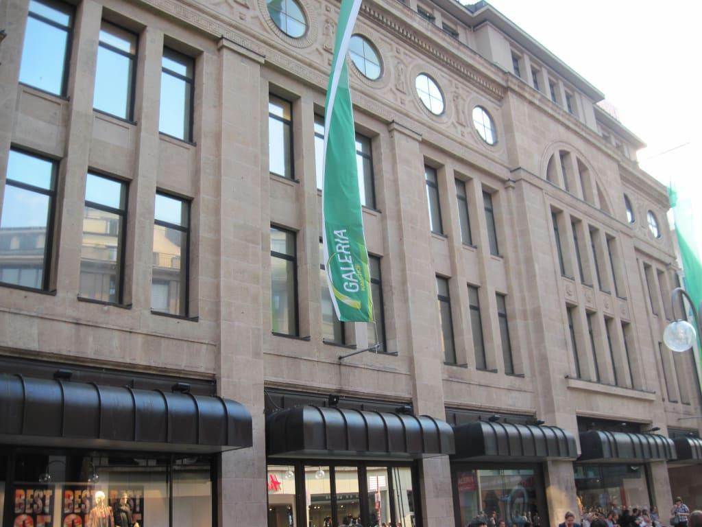 Köln Center Galeria Center Center Köln Kaufhof Galeria