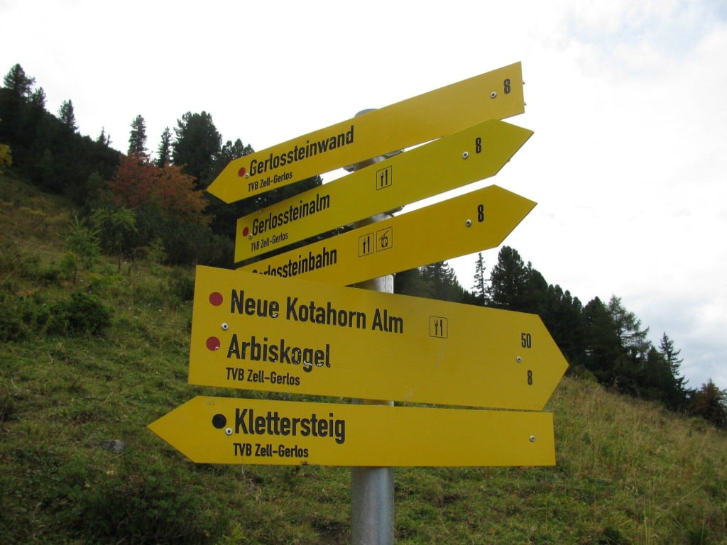 Klettersteig Gerlossteinwand : Klettersteig gerlossteinwand am samstag september