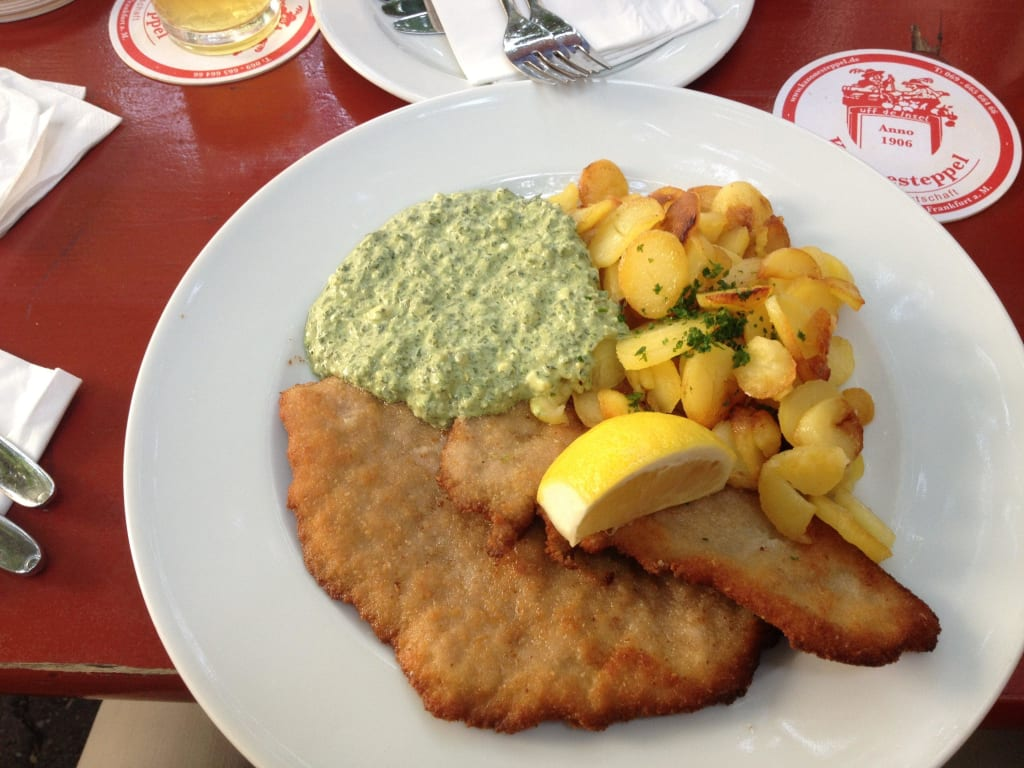 Schnitzel Essen In Frankfurt