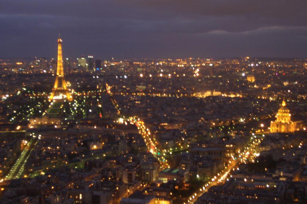 Aussicht vom Restaurant Le Ciel de Paris\