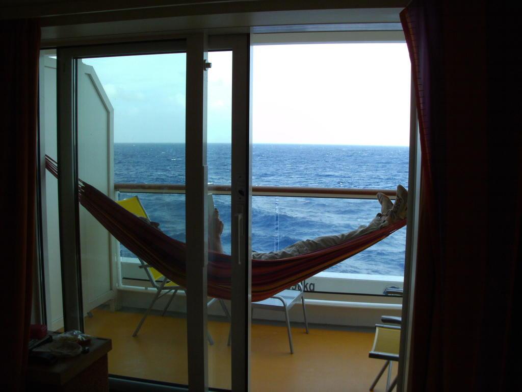 bild balkonkabine mit h ngematte zu aidablu in. Black Bedroom Furniture Sets. Home Design Ideas