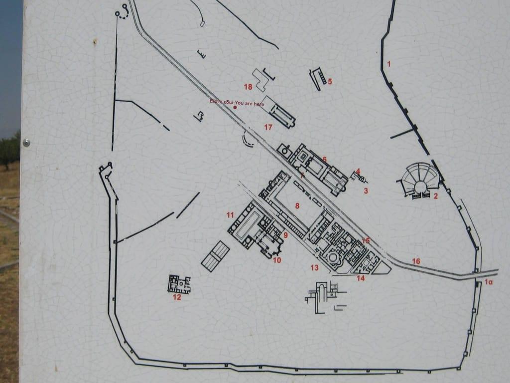 Ausgrabungsstätte Philippi Bilder Burg/Palast/Schloss/Ruine Ausgrabungsstätte Philippi