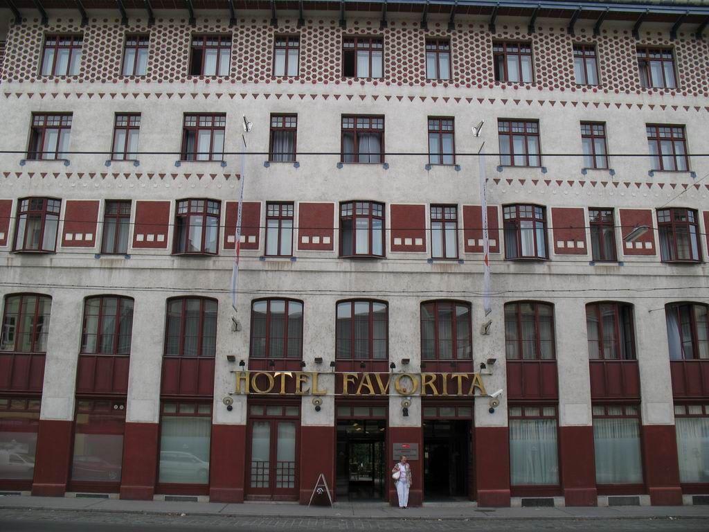 favorita hotel wien: