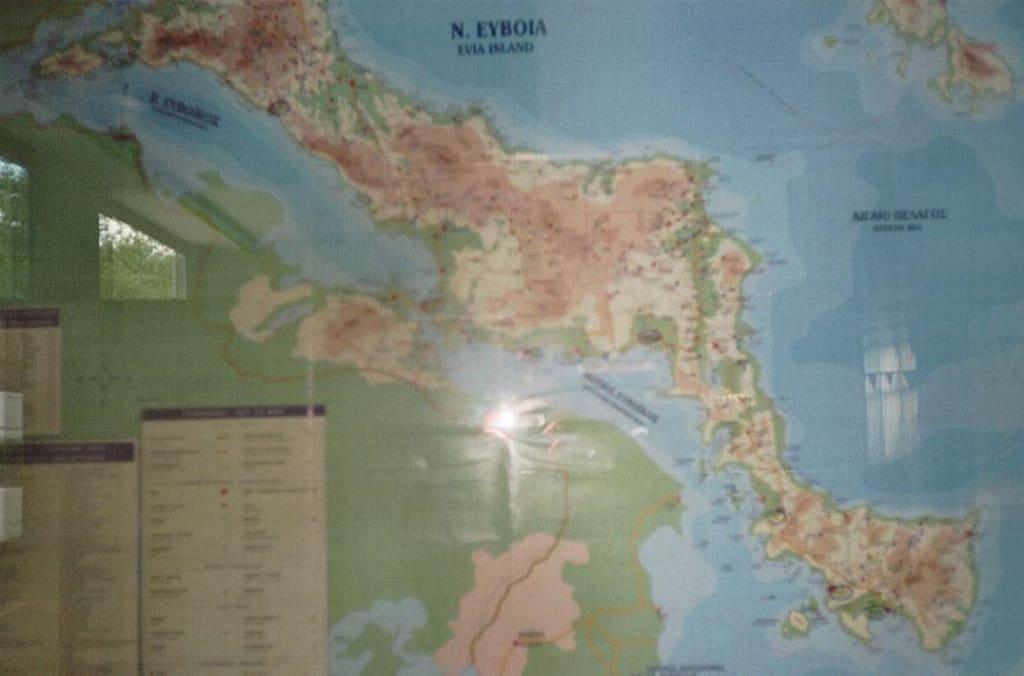 Landkarte Insel Evia Bilder  Evia / Euböa