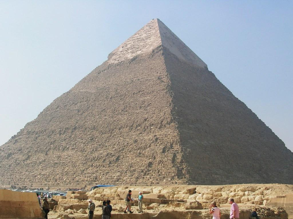 bild chefren pyramide zu pyramiden von gizeh in giza giseh. Black Bedroom Furniture Sets. Home Design Ideas