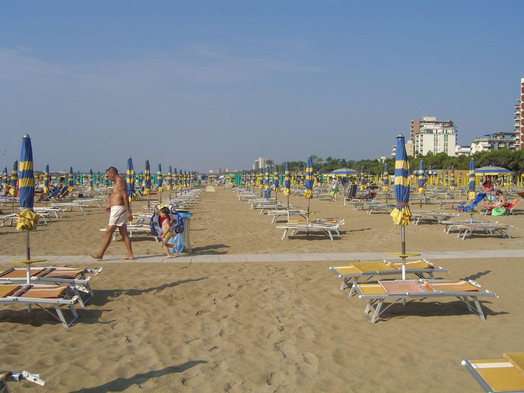 Bild Strand Zu Strand Lignano In Lignano