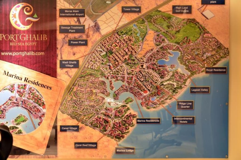 karte ägypten marsa alam