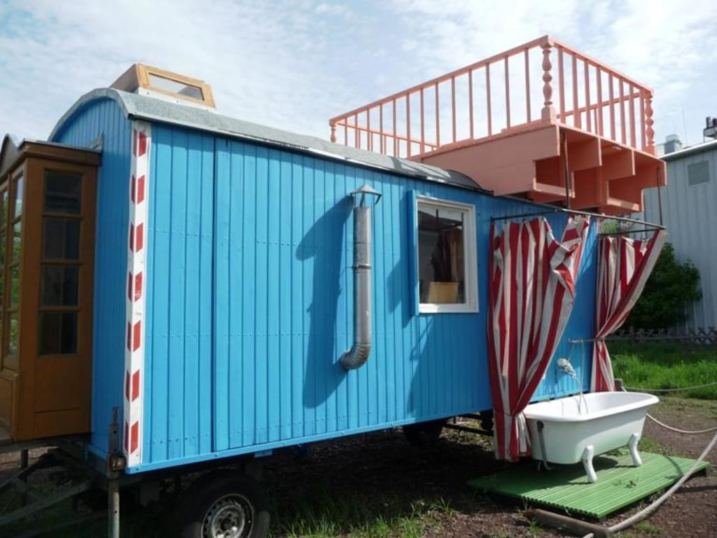 bild l wenzahn bauwagen zu filmpark babelsberg in potsdam. Black Bedroom Furniture Sets. Home Design Ideas