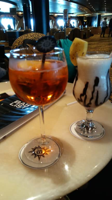 Lecker Cocktail Bild Msc Magnifica
